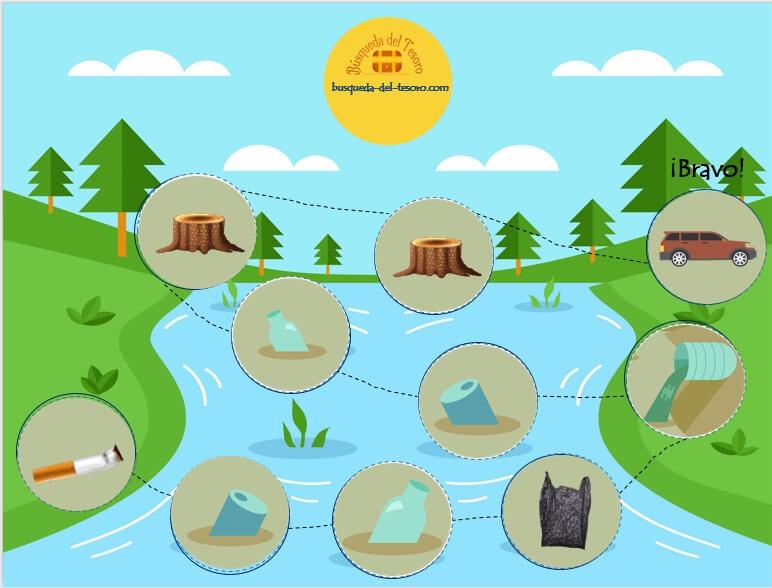 juego dia mundial del medio ambiente