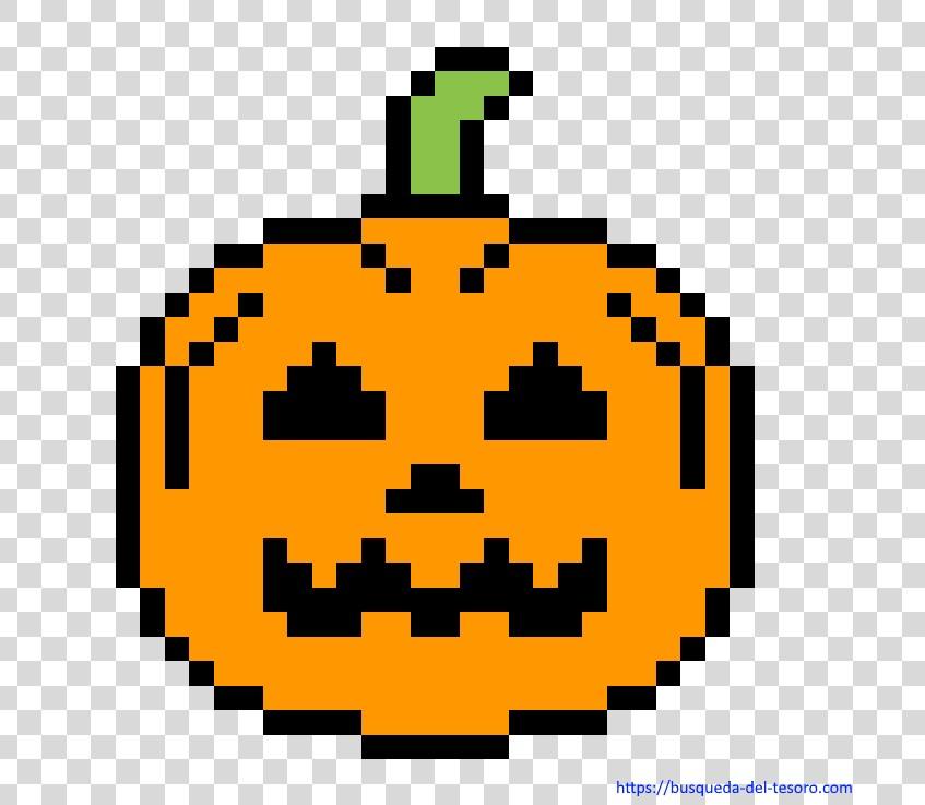 halloween de juegos pixel art